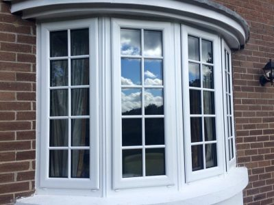 Replacement double glazed bay window with duplex bar, Mallow